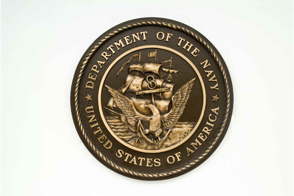 bronze military plaques and seals us bronze