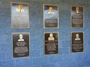 Wall Bronze Plaques of the New Monument Park