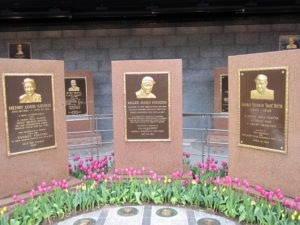 Original 3 Bronze Plaques of Monument Park